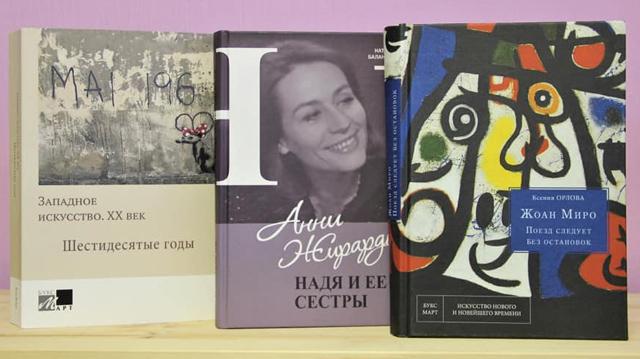 Новые книги сектора современного искусства Запада ГИИ