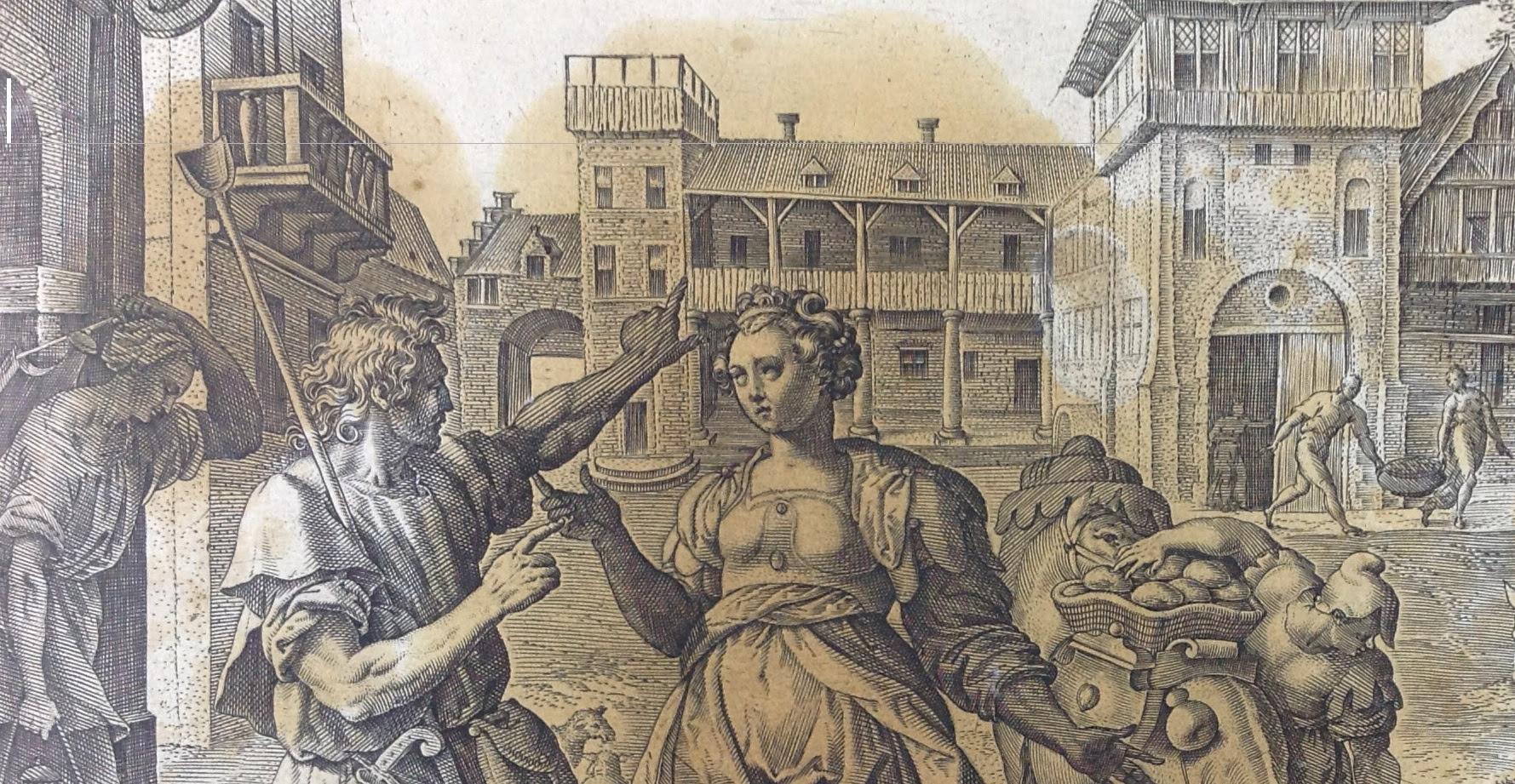 Библия Пискатора 1643 года из собрания Ярославского художественного музея