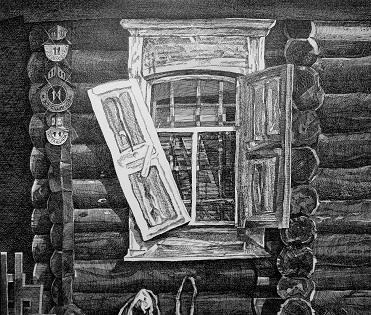 выставка графики Владимира Лузина на УРАЛ-ГРАФО